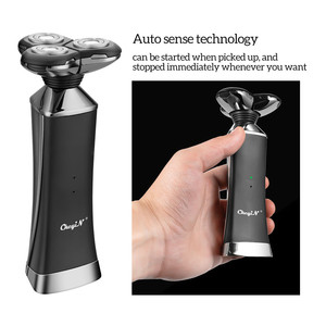 Image 5 - Электрическая бритва с быстрой зарядкой для всего тела, водонепроницаемая электробритва для влажной сушки, мощная бритвенная машина двойного назначения для мужчин, триммер для бороды 31