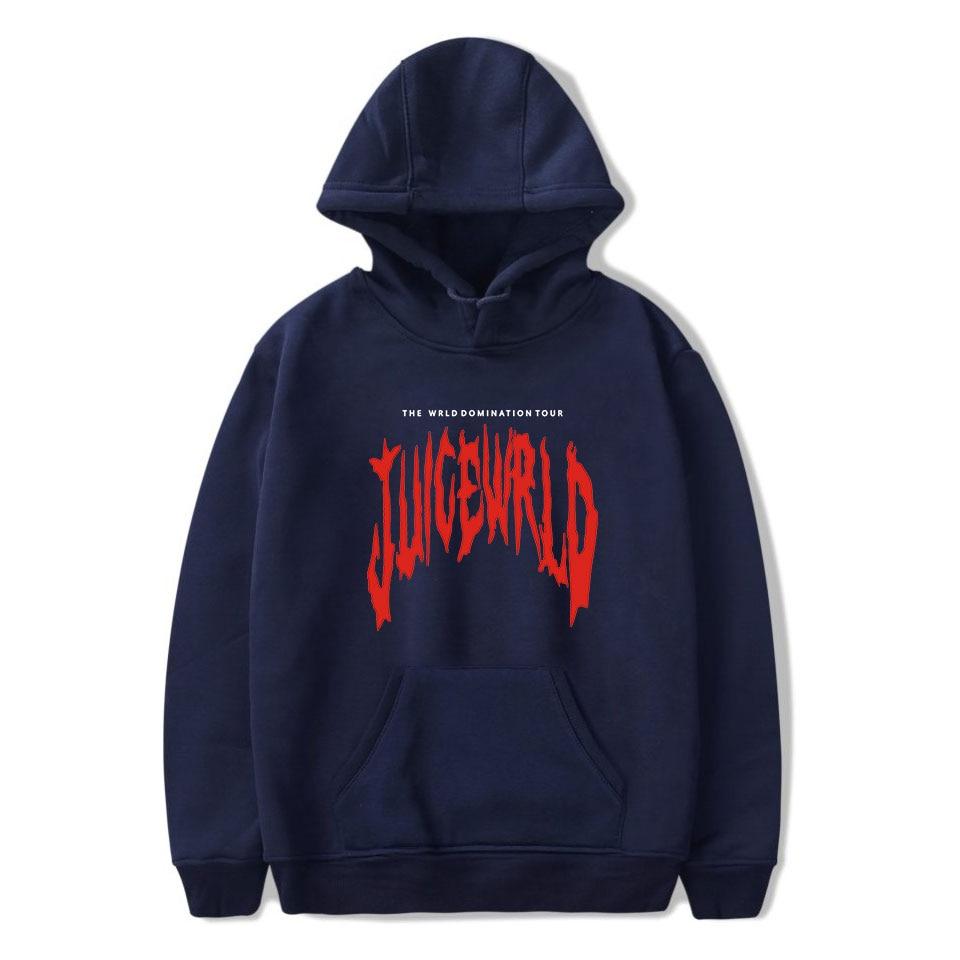 Rapper Juice Wrld Hoodies Men/Women 2019 New Arrivals Fashion Print Pop Hip Hop Style Cool Juice Wrld Sweatshirt Hoody Coats