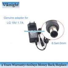 حقيقية رصد شاحن 19 فولت 1.7A موائم مصدر تيار ل lg فلاترون E2242C رصد E2351 IPS277 شاشة lg رصد الطاقة