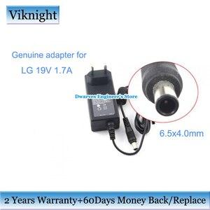 Image 1 - Oryginalna ładowarka do monitora 19V 1.7A Adapter do zasilacza do monitora lg FLATRON E2242C E2351 IPS277 ekran monitora lg