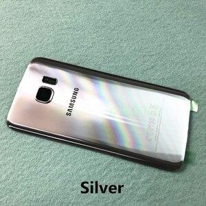Image 5 - SAMSUNG couvercle de batterie arrière pour Samsung Galaxy S7 G930 SM G930F S7 Edge G935 SM G935F coque arrière en verre + outils