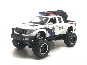 Image 3 - 1:32 Raptor F150 Pickup Truck Metal Toy Cars Model With Music Flashing Sound For Boys Birthday Gifts Free Shipping