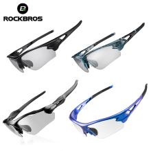 ROCKBROS Cycling Glasses Polarized Photochromic Bike Glasses Outdoor Sports Unis