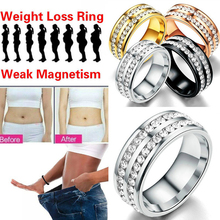 Magnetic Rings Medical Weight Loss Ring Slimming Tools Fitness Reduce RingStimulating Acupoints Gallstone