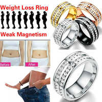 Magnetic Rings Medical Magnetic Weight Loss Ring Slimming Tools Fitness Reduce Weight RingStimulating Acupoints Gallstone Ring