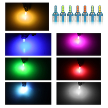 T10 W5W Led Bulb WY5W 194 168 Car Led Signal Lamp Lamp Interior Clearance Side Marker Light White Red Yellow Blue Green Pink