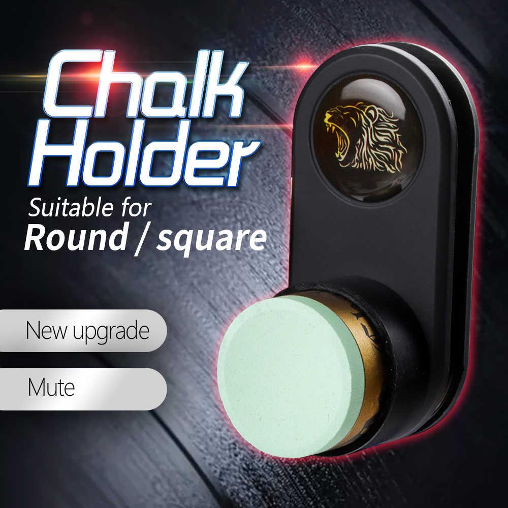 Magnetyczna podstawka na kredę bilardową wiele kształtów uchwyt na kredę do bilarda Snooker akcesoria bilardowe popularne style