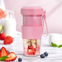 Electric Portable Juicer Cup 300Ml Usb Kitchen Fruit Mixer Squeezer
