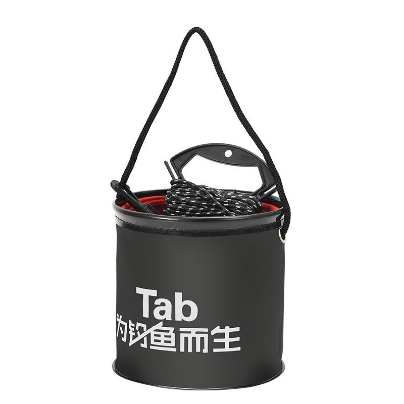 Folding EVA   Water Pail Bucket Outdoor Foldable Waterproof Fishing Box