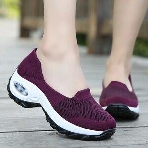 Women Sneakers Breathable Mesh