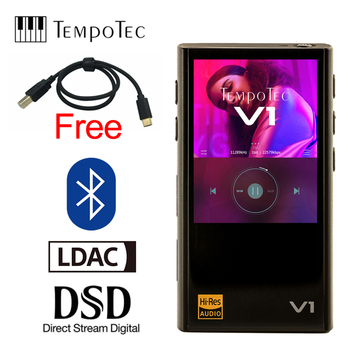 TempoTec Variations V1 Hifi Digital MP3 Player WITHOUT analog and supports Bluetooth LDAC IN&OUT for USB DAC&AMPLIFIER c e weyse theme and variations
