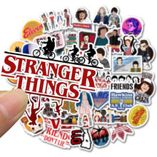 10 30 50pcs Pack Stranger Things Stickers Waterproof PVC Skateboard Snowboard Motorcycle Bicycle Guitar Laptop Sticker