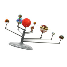 Diy Montage Glow Zonnestelsel Planetarium Model Kids Verbeelding Training