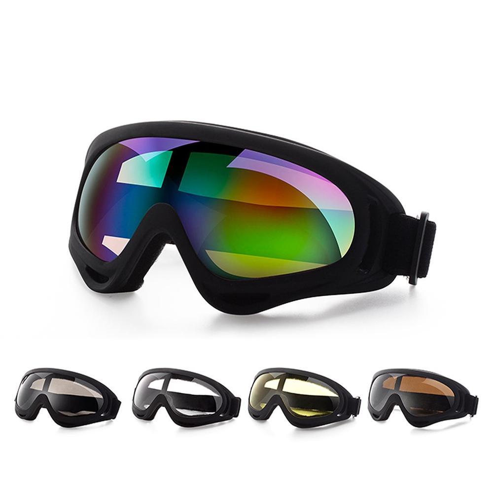 Спортивные защитные очки для улицы защитные очки для катания на лыжах защитные очки для езды на мотоцикле пыленепроницаемые ветрозащитные ...