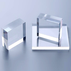 10mm Thick Plexiglass Clear Acrylic Perspex Sheet Customized Size Shape DIY Sign Neon Sign Dust Plate