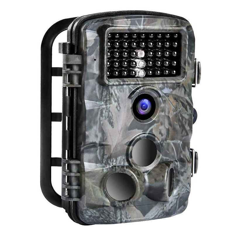 Hunting Trail Game Camera, 16MP 1080P Trail Cameras with Night Vision Motion Activated Waterproof 2.4 Inch LCD Cam for Wildlife