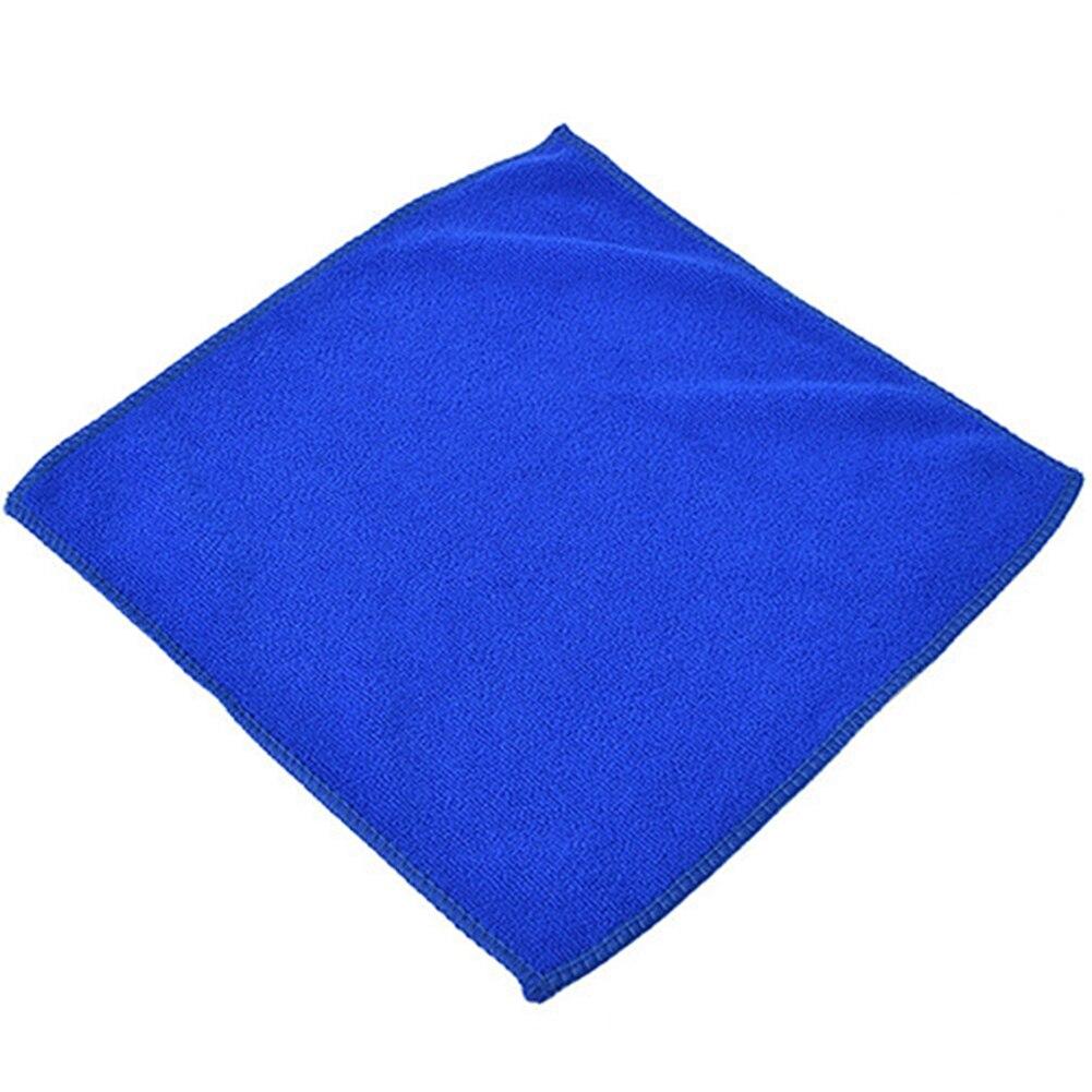 1/5pcs Towel Microfiber Soft Cloths Auto Cleaning Hotel Car Polishing Bath Towels Quick Dry High Absorbent Washing Cloth 25x25cm