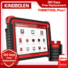 Thinkcar Thinktool Pros Plus OBD2 10 Inch Online Programming Diagnostic Tool ADAS Function 2 Years Free Update 28 Special Reset