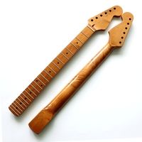 New Strat Electric Guitar Neck  DIY Roast maple Bright light SQ guitar assembly replacement 22Fret Guitar accessories part