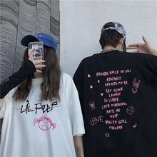 Camisa de manga curta de algodo macio t camisa de manga curta t camisa de moda das mulheres dos homens hip hop