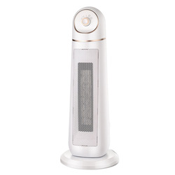 T10500 Heater Vertical Tower Fan Electric Heating Bathroom Shaking Head Heater Home Office Ceramic Heater