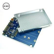 """NGFF ( M2 ) SSD to 2.5"""" SATA Adapter M.2 NGFF SSD to SATA3 & USB3.0 Converter Card RAID ADPNG301"""