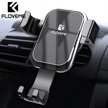 FLOVEME Gravity Car Phone Holder For iPhone for In Air Vent Mount Mobile Stand Samsung S9