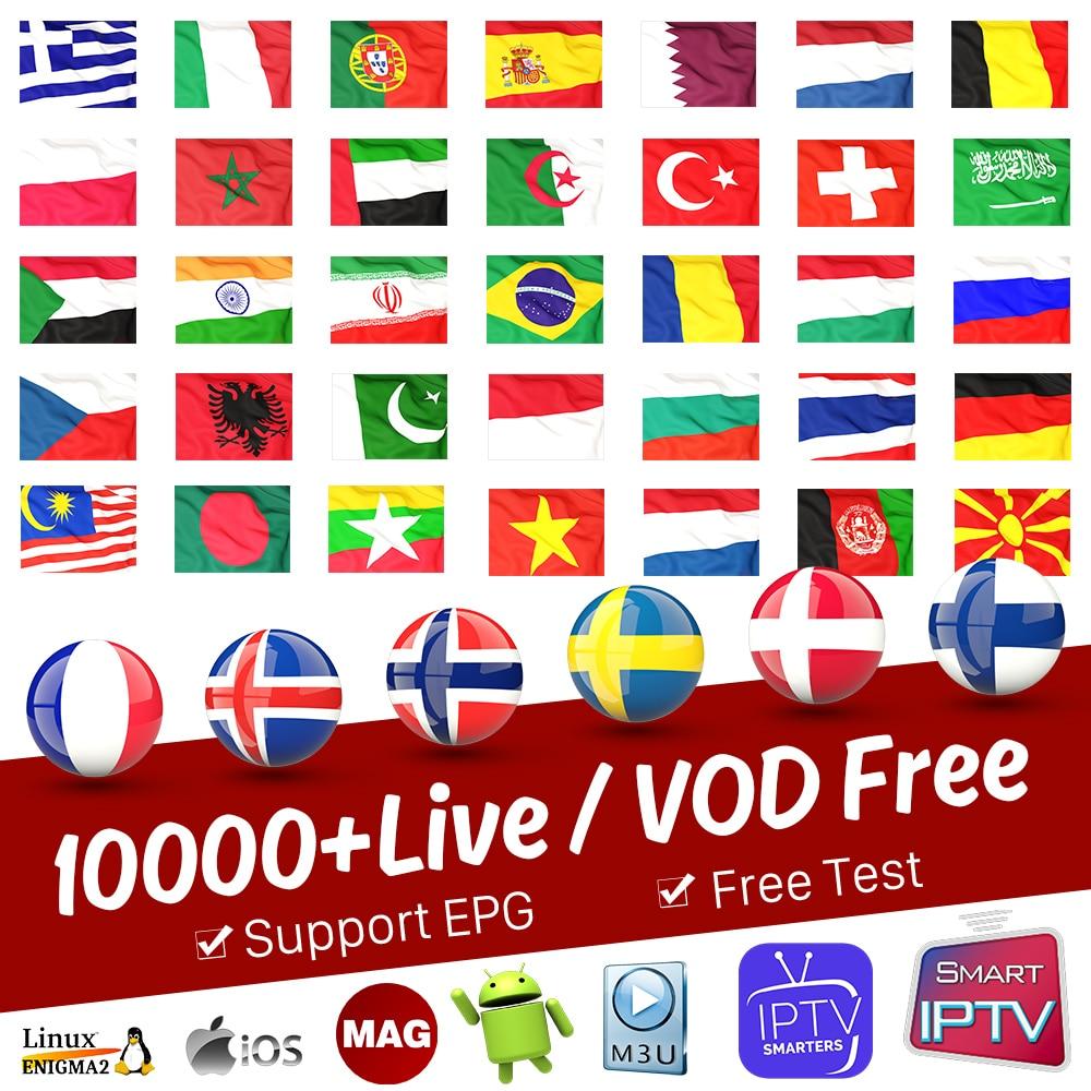 IPTV France Subscription Portugal Spain IPTV Arabic Germany Finland Sweden Norway French IPTV M3U Italia Belgium Greek IP TV