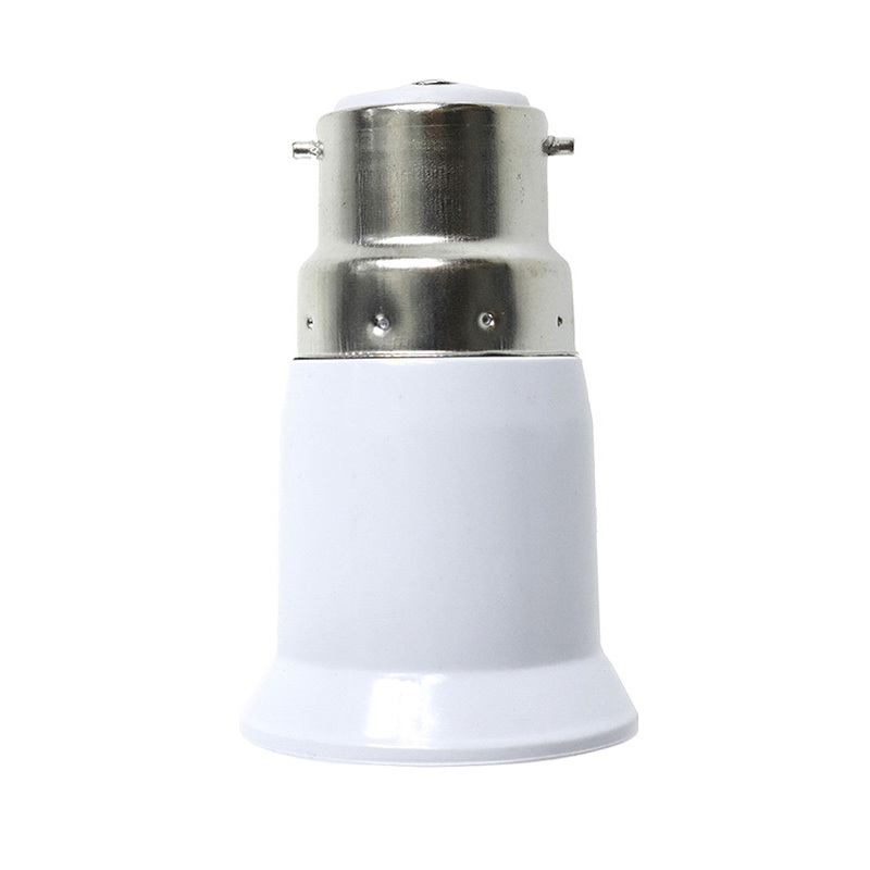 1x Converter E27 E14 E40 GU24 G24 B22 E22 Adapter Conversion Socket High Quality Material Fireproof Socket Adapter Lamp Holder