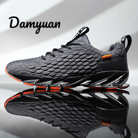 Damyuan 2019 New Autumn Casual Shoes Men Sports Shoes Sneakers Blade Shoes Plus Size 46 Zapatos De Hombre VIP LINK Black Shoes