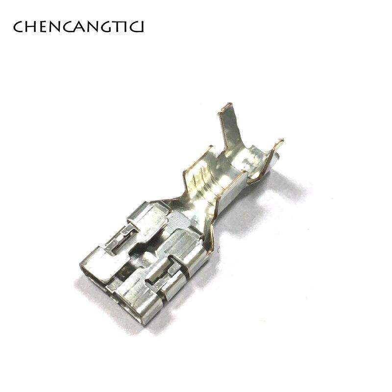 Bornier de fil à sertir pour voiture, connecteur de câble électrique femelle, broches de contact en laiton 9.5-7116, 20 pièces, 3250mm