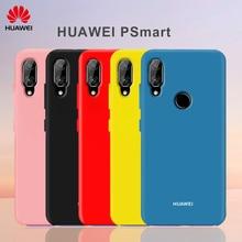 HUAWEI P Smart Case Original Liquid Silicone Soft Back Cover