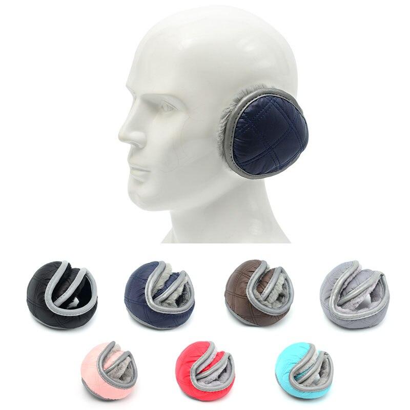 Earmuffs Winter Accessories For Women Men Waterproof Warmer Ear Muffs Cover Foldable Ladies Adjustable Sport Outdoor Earwarmers