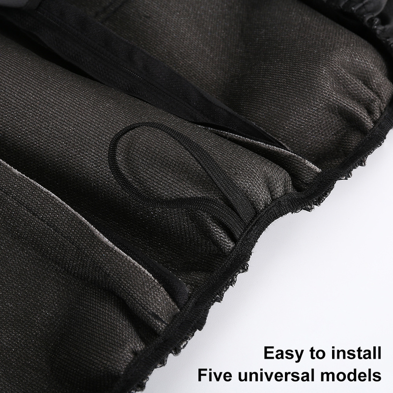 11 Pcs Black PU Leather Car Seat Cover Set Universal Auto Vehicle Seat Protector Dustproof Automobiles SUV Interior Accessories in Automobiles Seat Covers from Automobiles Motorcycles