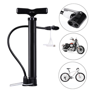 Pompe à vélo 120 PSI haute pression plancher debout vélo pneu pompe moto pneu main gonfleur extérieur équitation vélo accessoires