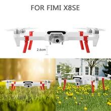 цена на 4Pcs Air Landing Gear Landing leg for Xiaomi FIMI X8 SE RC Drone Camera Accessories Protector Board For Xiaomi Gimbal Camera