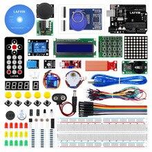LAFVIN Starter Kit di Base/Apprendimento Kit comprende R3 Bordo, LCD1602 IIC con Tutorial per Arduino per UNO R3