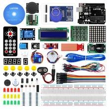 LAFVIN базовый стартовый комплект/обучающий комплект включает плату R3, LCD1602 IIC с обучающим руководством для Arduino для UNO R3
