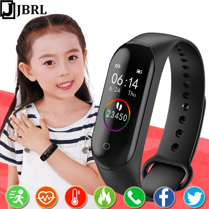 Smart Watch Kids Watches Children For Girls Boys Sport Bracelet Child Wristband Smart Band Fitness Tracker Smartwatch Waterproof
