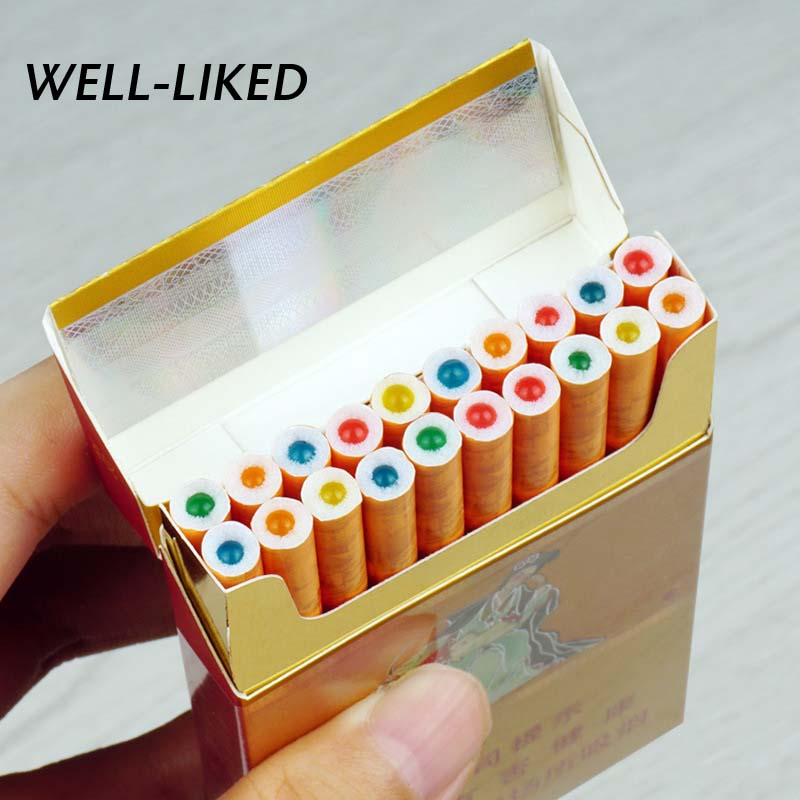 100 Pcs Exploding Beads Cigarette Filters Cigarette Holder Fruit Flavor Cigar Holder Smoke Smoking Pipe Accessories Wholesale