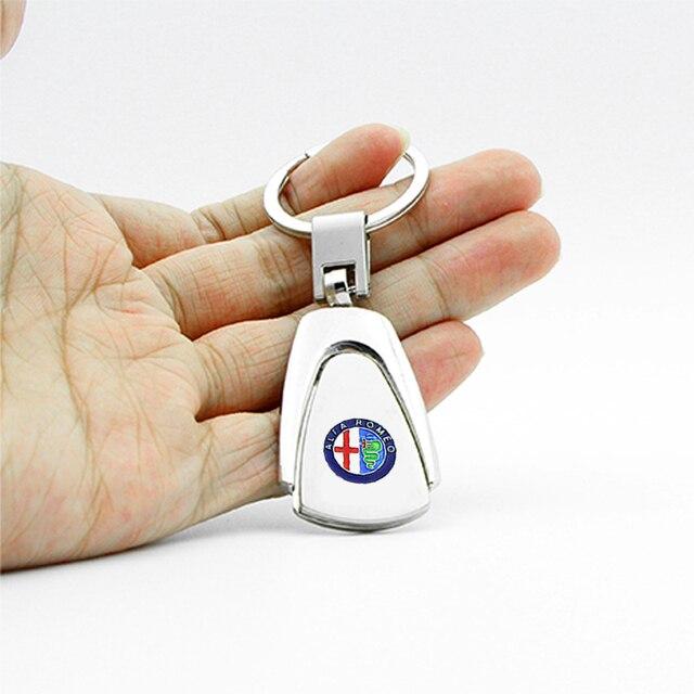 Купить 1 шт металлический автомобильный брелок для ключей с логотипом