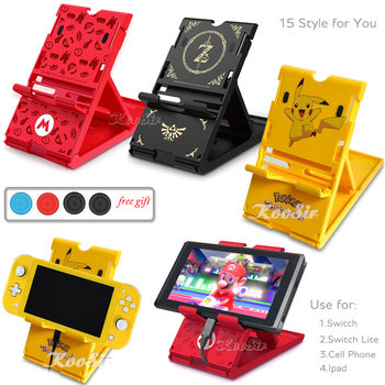 Nintend Switch Console Storage Stand Nintendoswitch Bracket Nitendo Lite Base for Nintendo Switch/Lite Game Accessories - sale item Games & Accessories