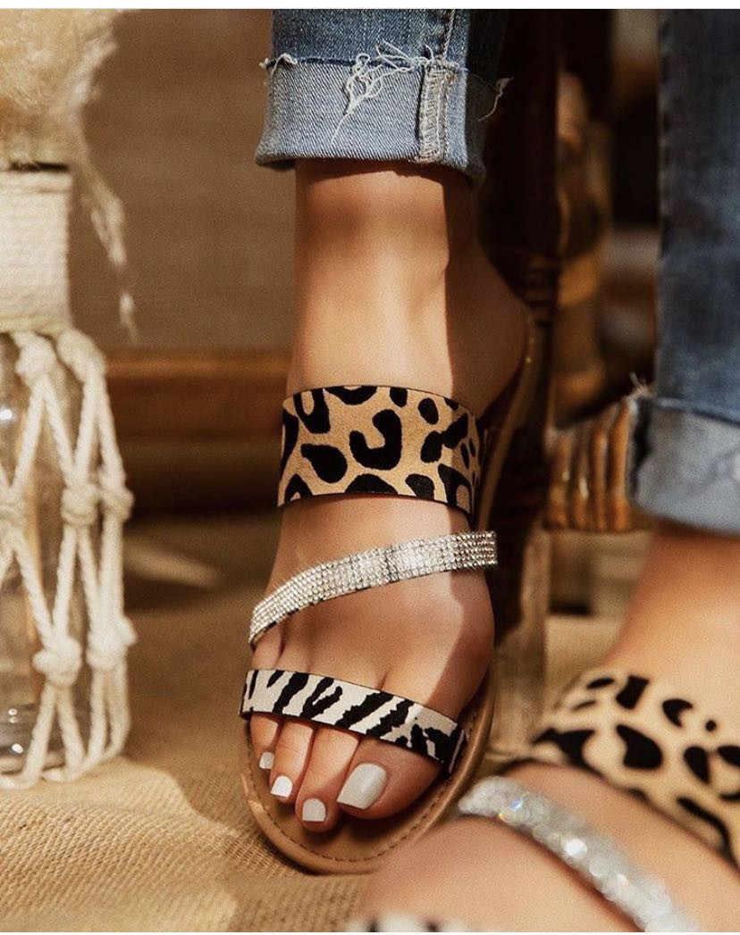2020 Bling Summer Shoes Women