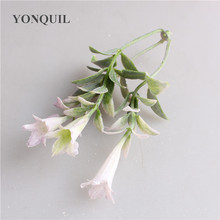 Leaf-Flower Wedding Floral-Accessories Home-Decoration Artificial-Green for Foliage DIY