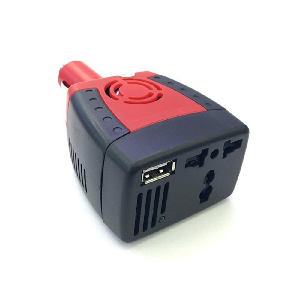 150W 12V DC do 220V zasilanie prądem zmiennym dostaw samochodowa przetwornica napięcia Adapter zapalniczki z port usb do ładowania transformator audio