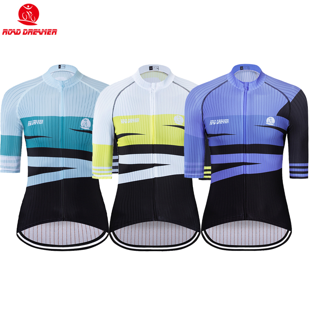 Bike Jersey Short-Sleeve Triathlon Maillot-Ciclismo Yellow Women New Mtb Lycra Breathable