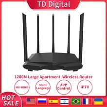 Wi-Fi-роутер GC7 AC1200M с антенной с высоким коэффициентом усиления, 2,4/5,0 ГГц