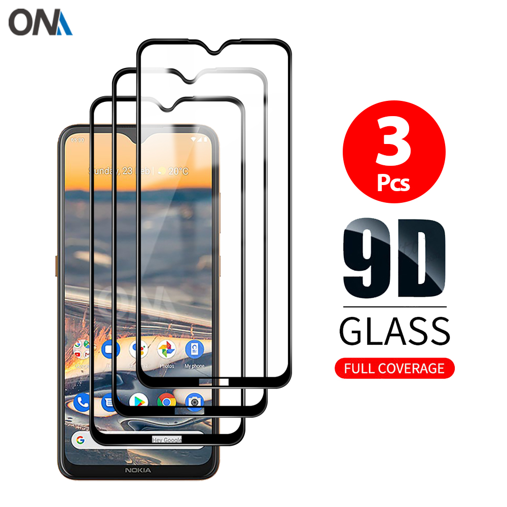 Screen Protector for Nokia 2.3 5.3 6.2 7.2 Tempered Glass Premium Full coverage Protection Glass Fil