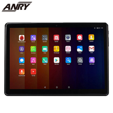ANRY 10.1 Inch Android 8.1 Tablet PC 2G+32G Quad Core Dual SIM and Camera 4G Phone Call Wifi Phablet GPS IPS 1280x800 anry 10 1 inch 8 core 4g 64g android tablet pc sim dual camera 8 0mp ips mtk6797 4g wifi call phone tablet wifi gps bluetooth