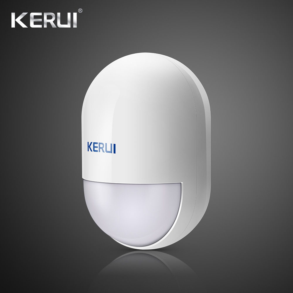 KERUI P829 Wireless Motion PIR Detector Movement Sensor For Wifi GSM PSTN Home Security Voice Alarm System 1
